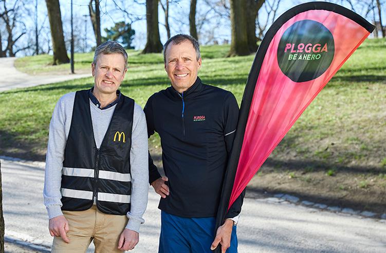 McDonald's ploggar Sverige runt