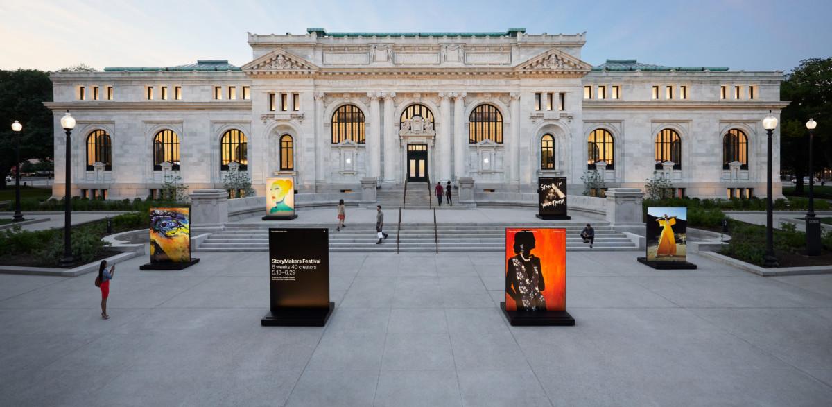 Här öppnar Apple i klassiskt bibliotek