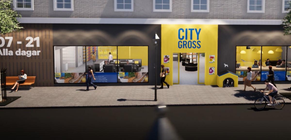 Här är City Gross nya stadskoncept