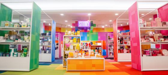 Story vill få kunden att scrolla butiken