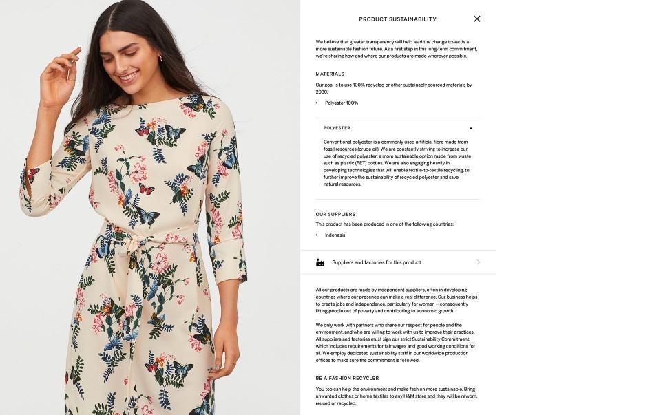 Hållbara val via transparens hos H&M