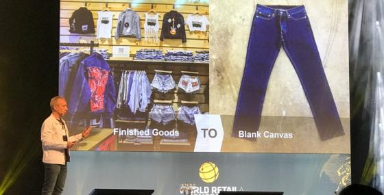 Personalisering ändrar Levi's affärsmodell