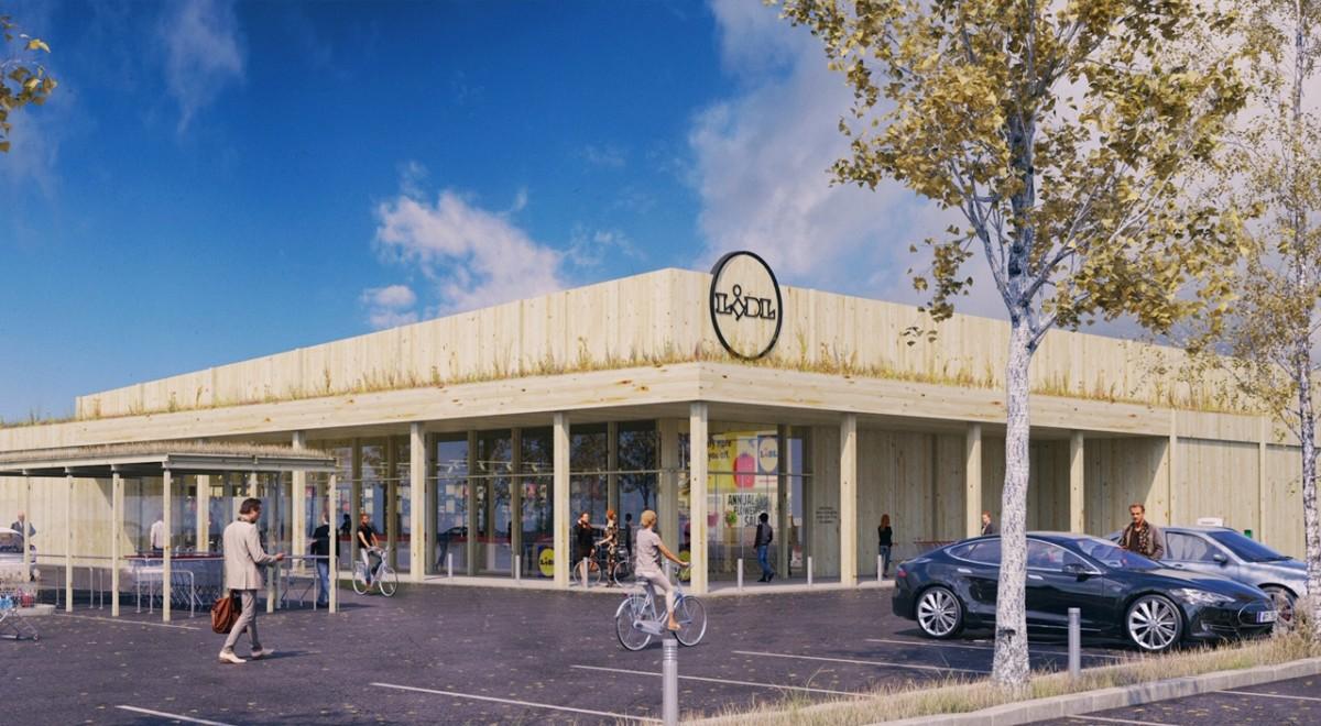 Lidl bygger klimatneutral butik