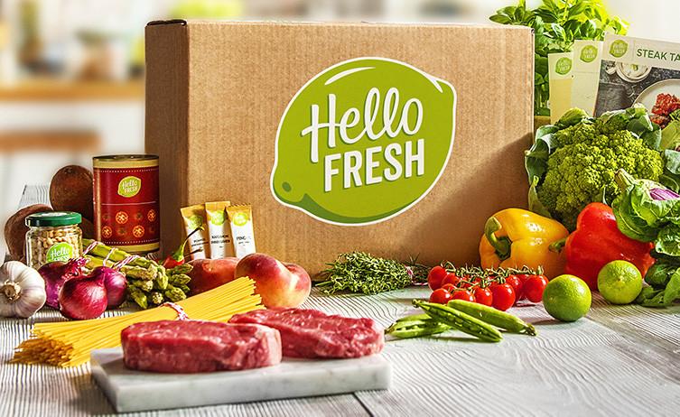 HelloFresh har nu lanserats i Sverige