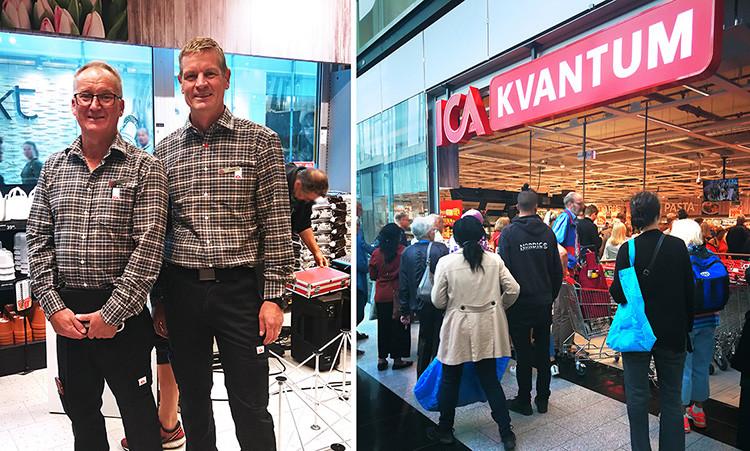 Nu har Ica Kvantum öppnat i Kista Galleria