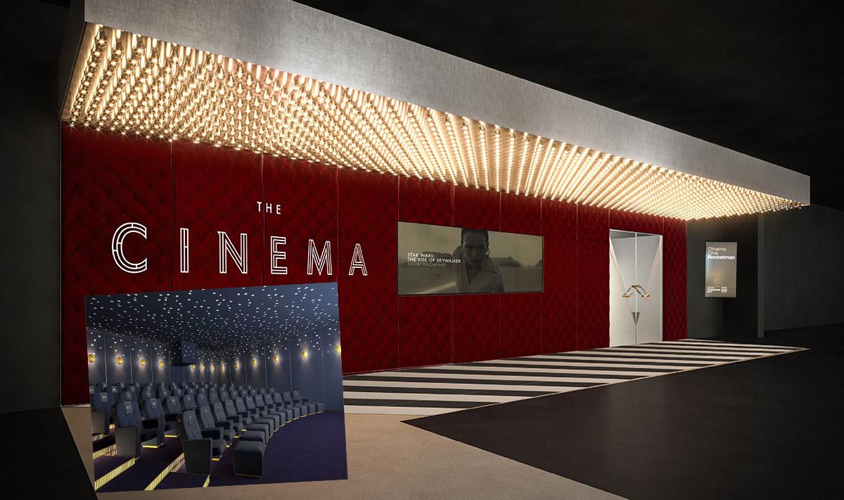 Butikskedjan öppnar egen biograf