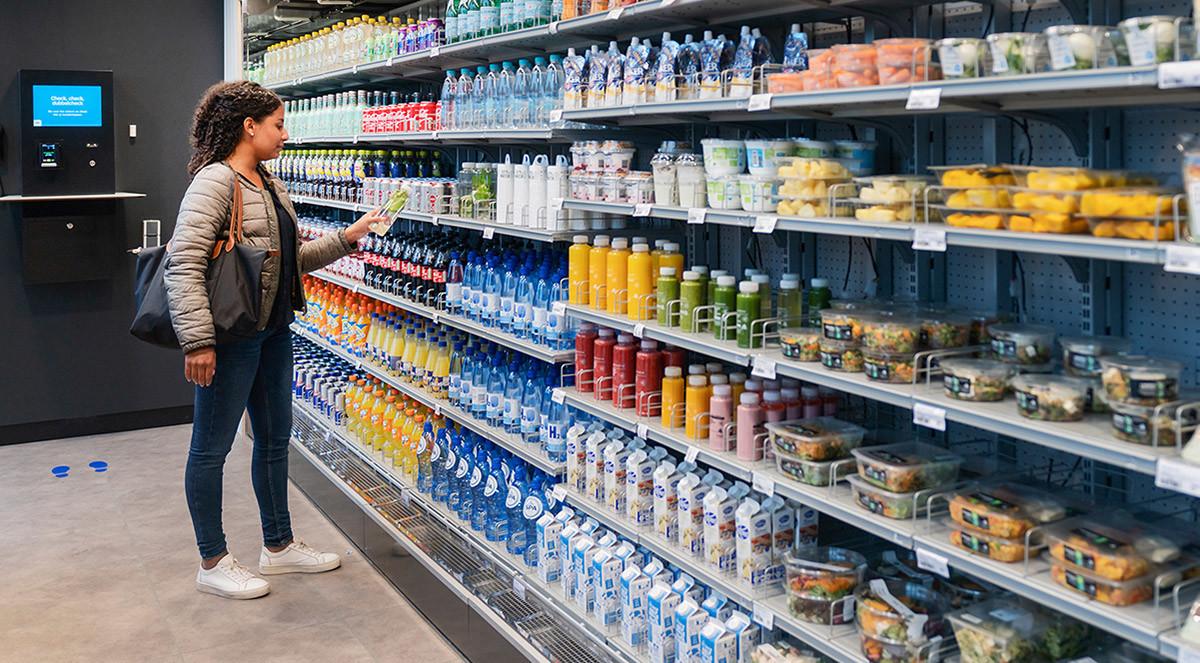 Kedja testar automatisk butik utan kassor