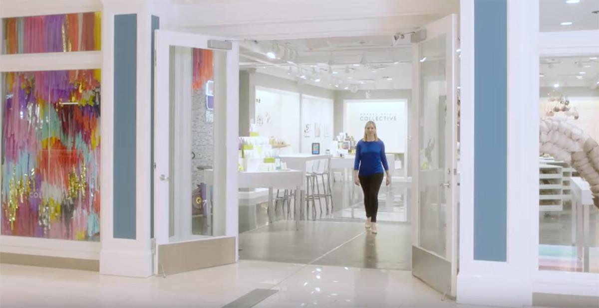 Framtidsbutik öppnar i köpcentrum