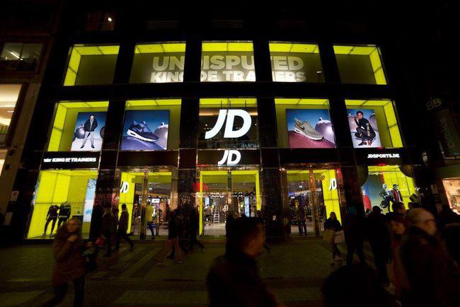 Här öppnar JD Sports nytt flaggskepp