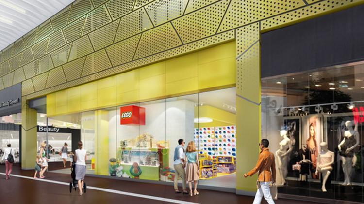 Här öppnar Lego ny butik