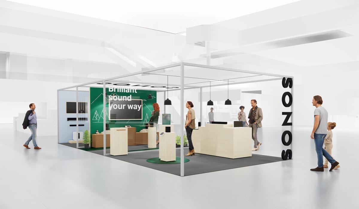 Nordisk butikspremiär för Sonos