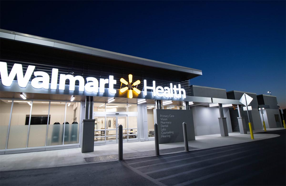 Walmart vill bli destination för hälsa