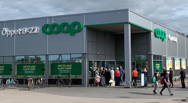 Här är 13 Nettobutiker som blir Coop