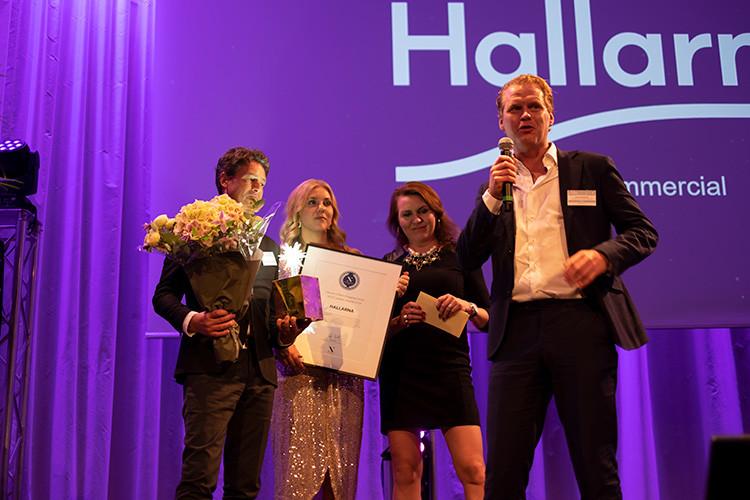 Hallarna Sveriges bästa köpcentrum 2019