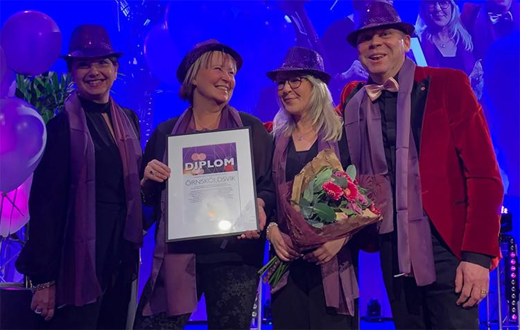 Örnsköldsvik Årets Purple Flag-stad 2019