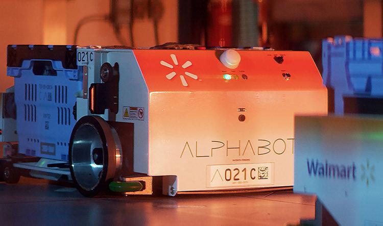 Robot löser e-plock i dagligvarubutiken