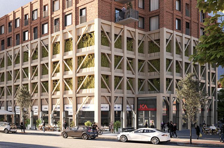 Ica öppnar butik i  framväxande stadsdel