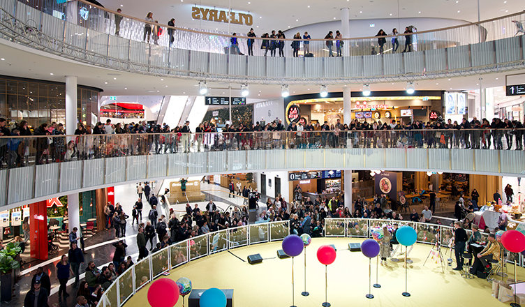 Mall of Scandinavia i samarbete med Mello