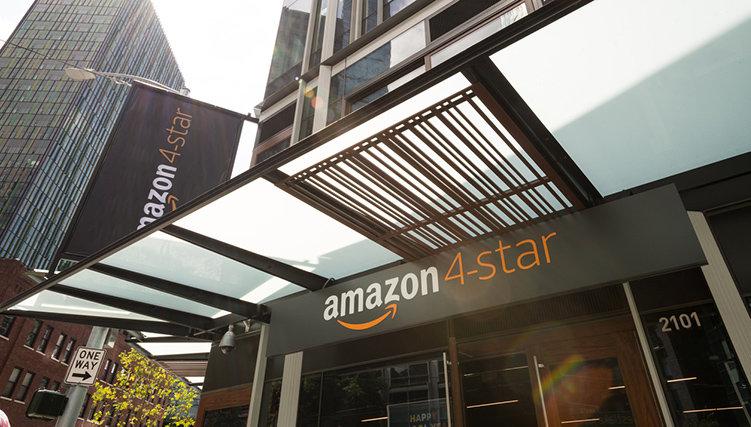 Amazon ökar antalet fysiska butiker
