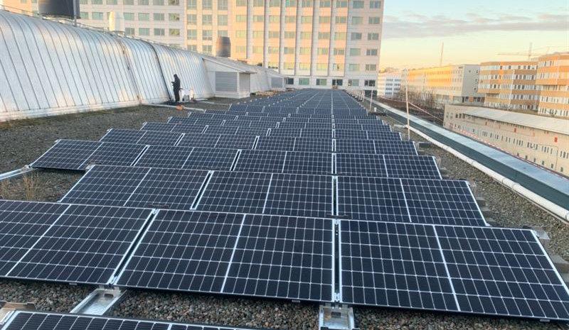 Kista Galleria satsar på förnybar solenergi