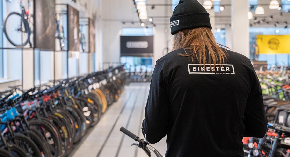 Service via omnichannel hos Bikester