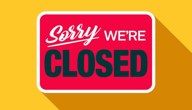 E-handeln stänger ner och ransonerar