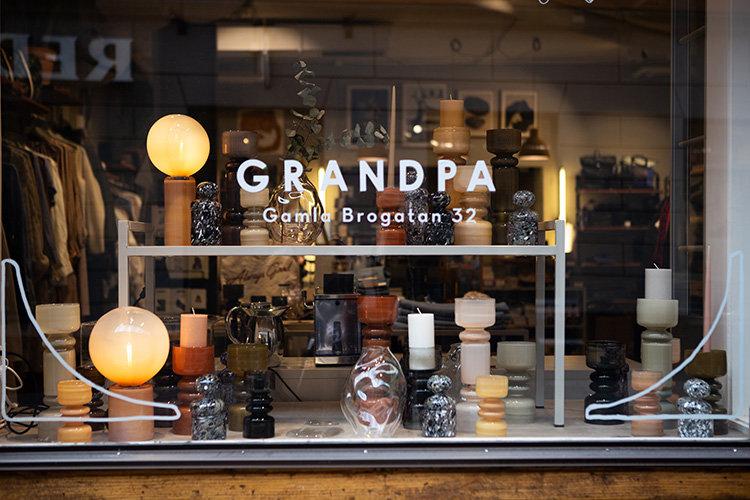 Grandpa hyllar lokala kreatörer