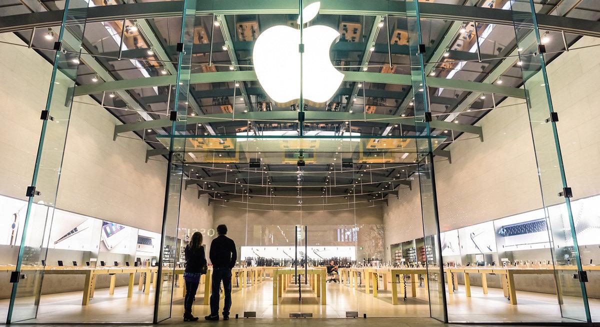 Apples butiksteam sköter supporten hemifrån