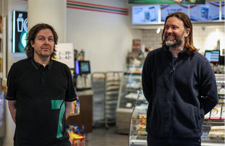 Niklas Ekstedt och 7-Eleven i lokalt samarbete