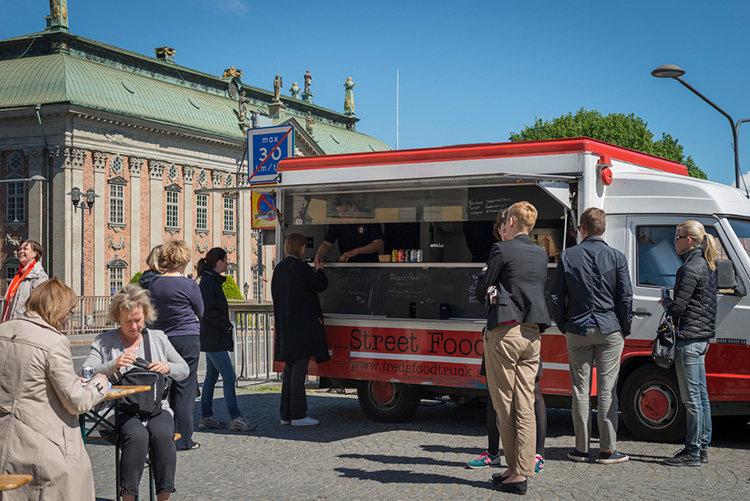 Lättnader för food trucks i Stockholm