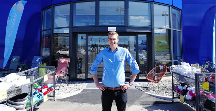 Här öppnar Sveriges största Jysk-butik