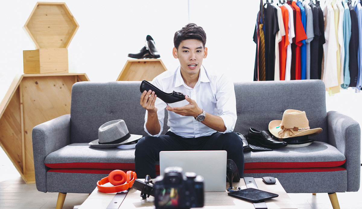 Live stream shopping lyfter i coronakrisen