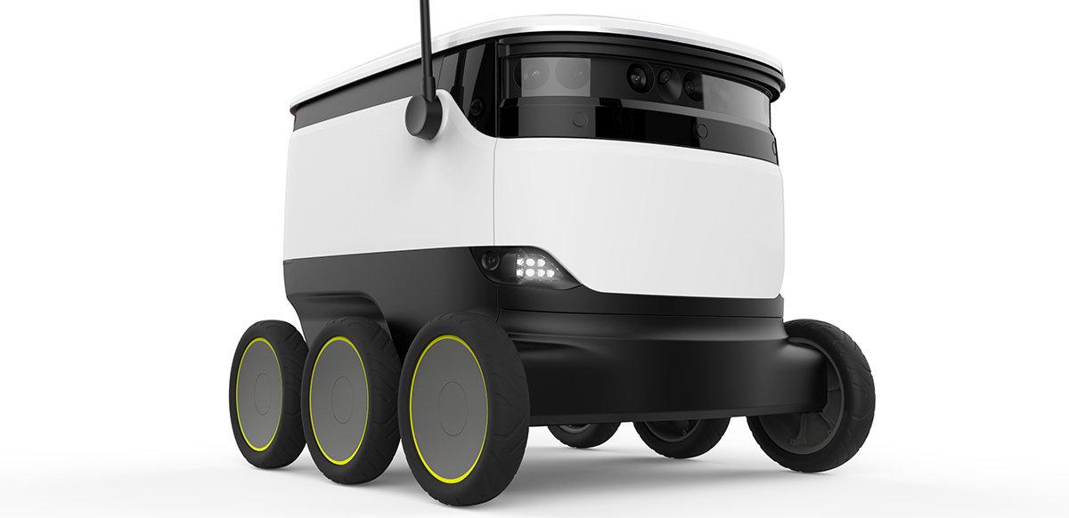 Anrik matbutik levererar med robotar