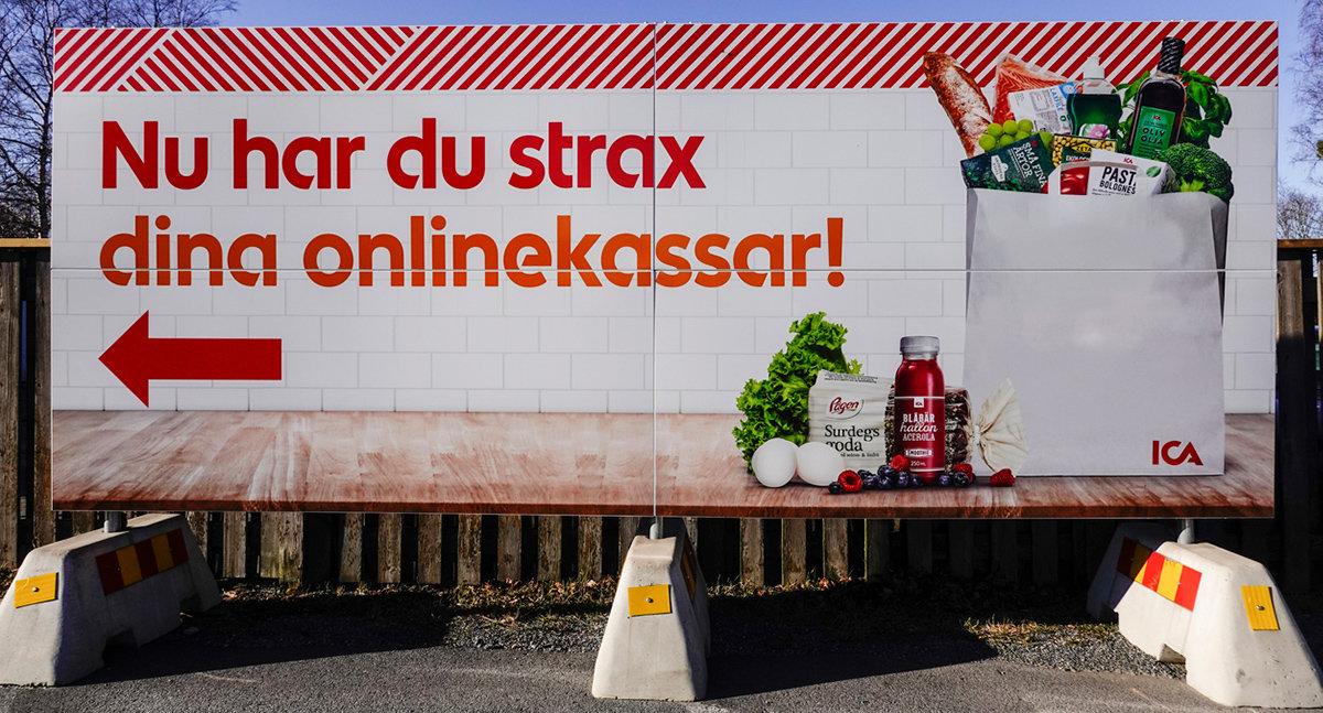 Fysiska butiker gör mat på nätet lönsamt