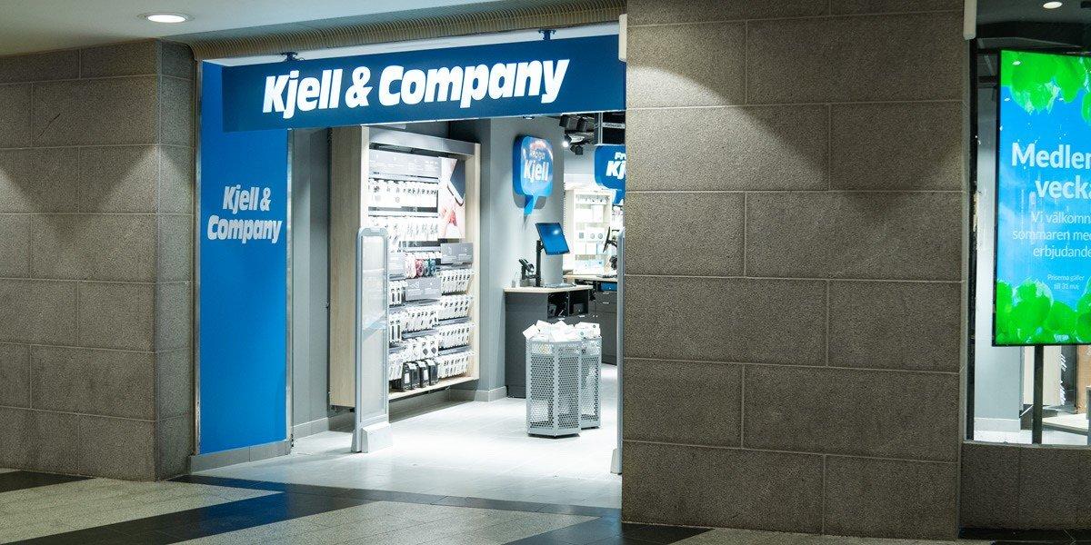 Kjell & Company skippar traditionella kassor