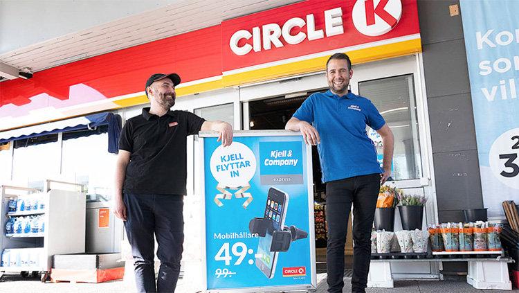 Kjell & Company flyttar in hos Circle K