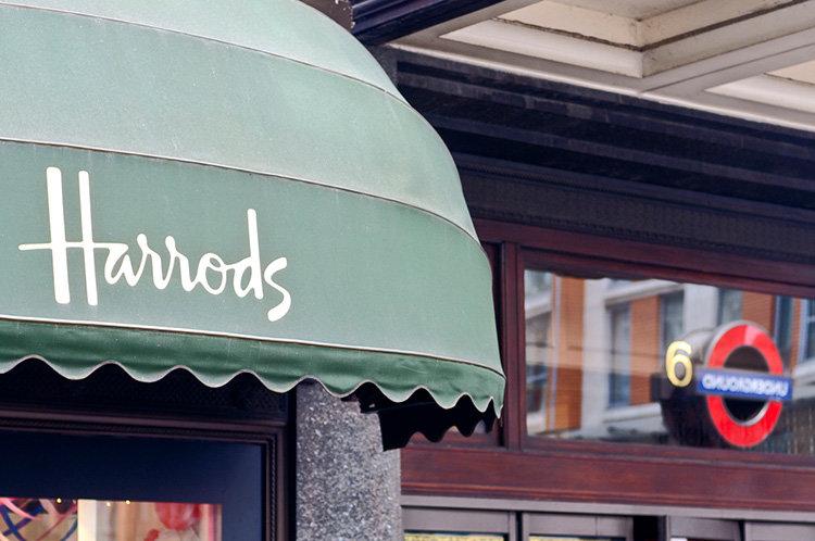 Harrods öppnar butik i köpcentrum