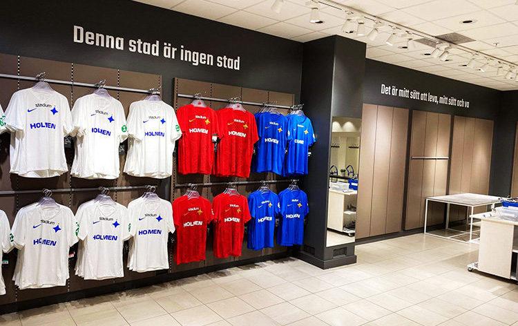 IFK Norrköping öppnar ny butik