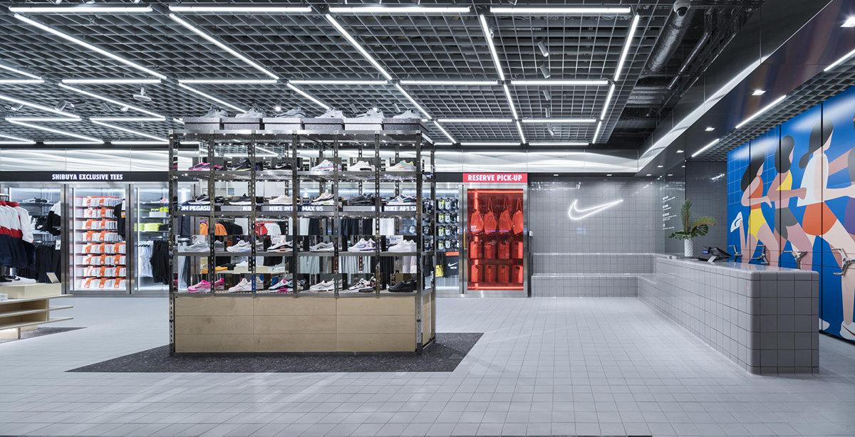 Nike öppnar hundratals fygitala butiker