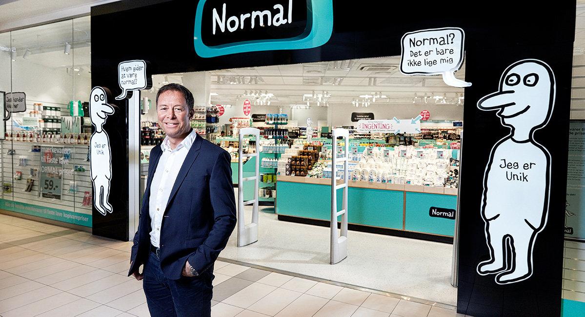 Normal öppnar tio sommarbutiker
