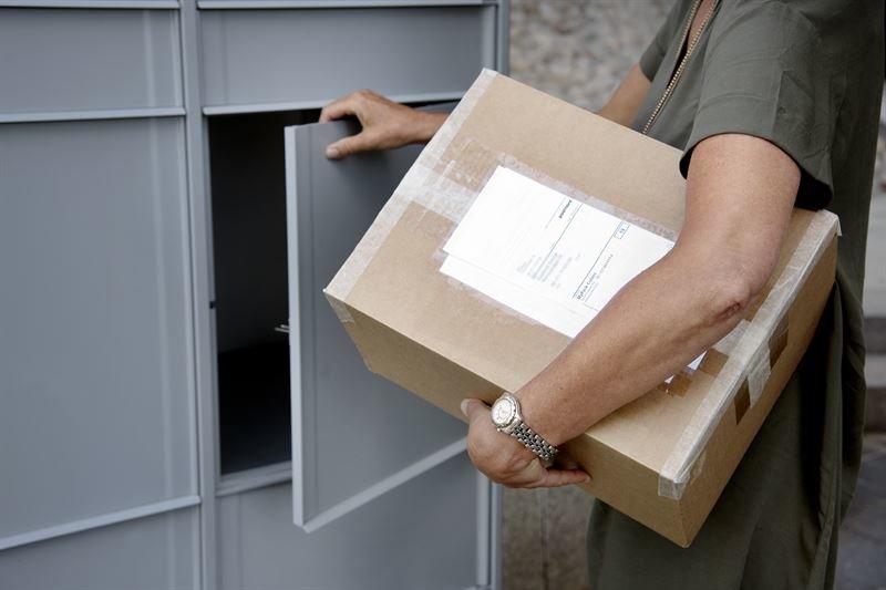 Paketboxar ska möta ökad e-handel