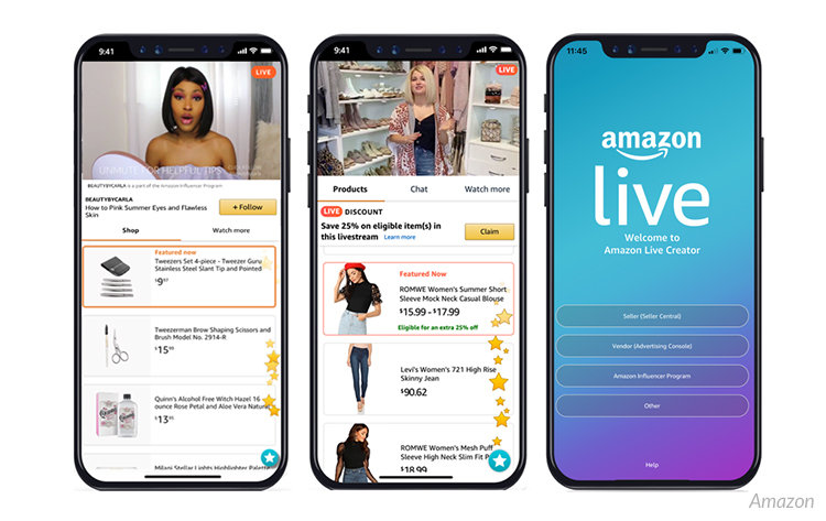 Nya kundupplevelser med Amazon Live
