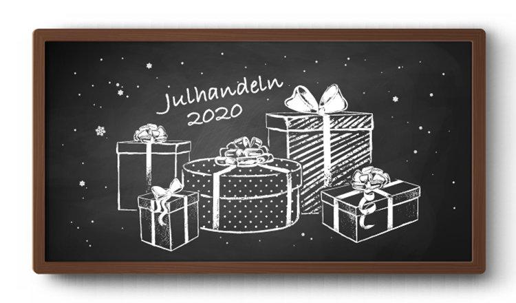 Årets julhandel flyttar online
