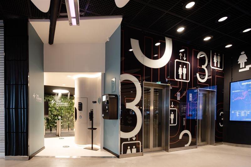 Köpcentrum öppnar smart toalettkoncept