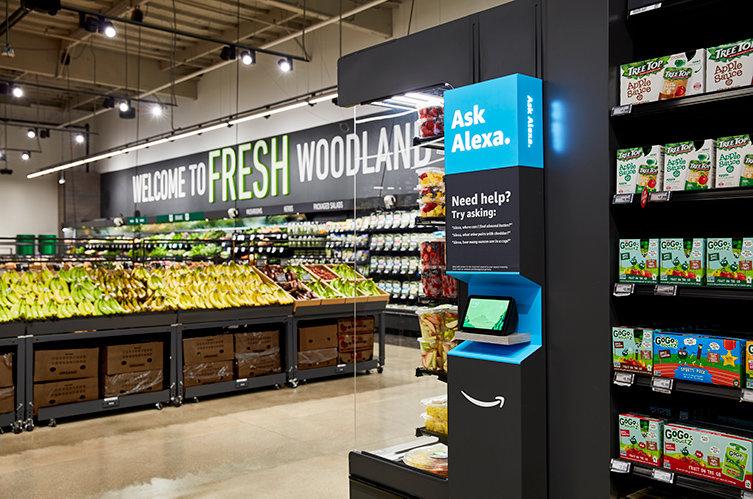 Amazon öppnar fler supermarkets