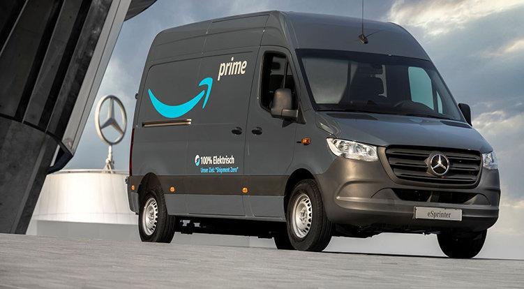 Amazon laddar upp med 1 800 elbilar