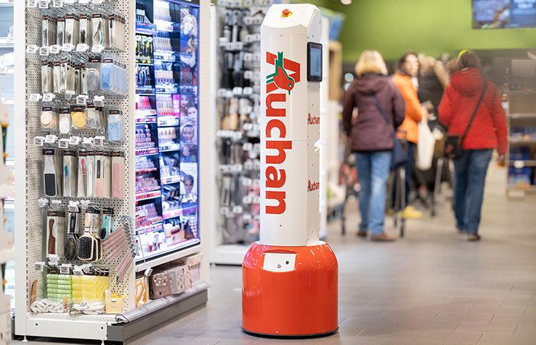Robot optimerar stormarknadens drift