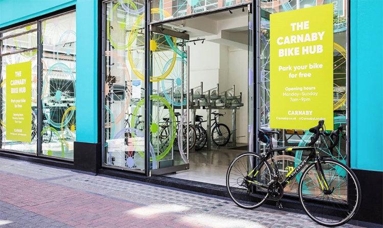 Bike hub underlättar för citycyklister