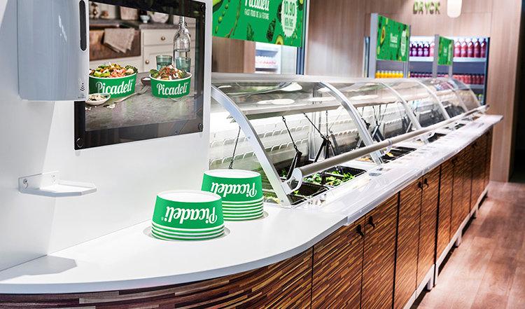 Picadeli dubblar antalet salladsbarer