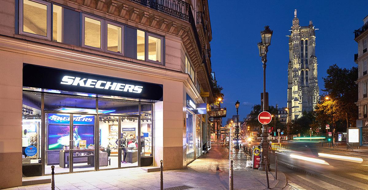 Därför öppnar Skechers på Rue de Rivoli